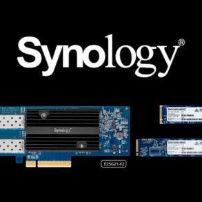 Synology E10G21 F2 E25G21 F2 SNV3400 SNV3500 293x293 - Synology annonce l'arrivée des E10G21-F2, E25G21-F2 et SNV3400, SNV3500