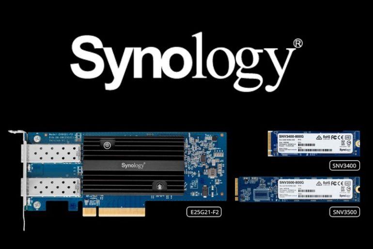 Synology E10G21 F2 E25G21 F2 SNV3400 SNV3500 770x513 - Synology annonce l'arrivée des E10G21-F2, E25G21-F2 et SNV3400, SNV3500