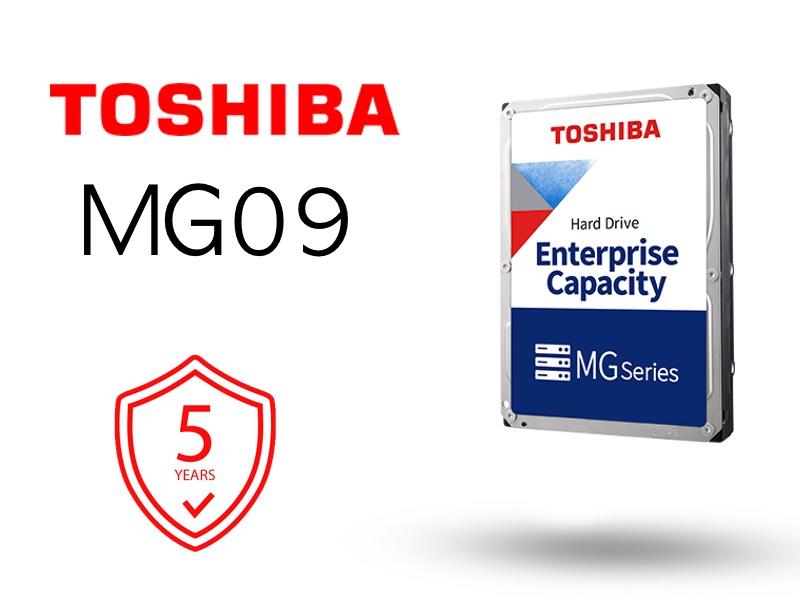 Toshiba MG09 2021 - Toshiba lance les disques durs MG09 18 To