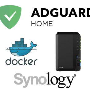 adguard synology Docker 293x293 - AdGuard Home sur un NAS Synology (avec Docker)