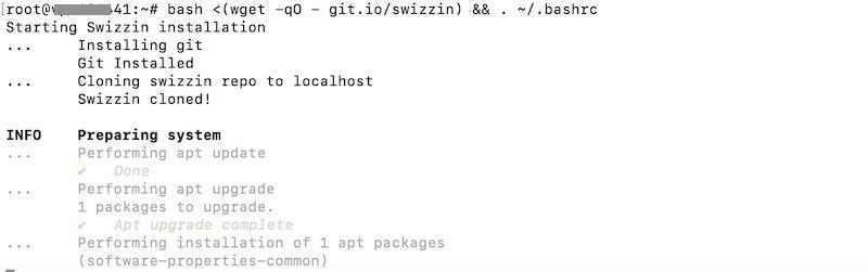 commande install swizzin - Créer votre Seedbox en 20 minutes avec Swizzin (Kimsufi, VPS...)