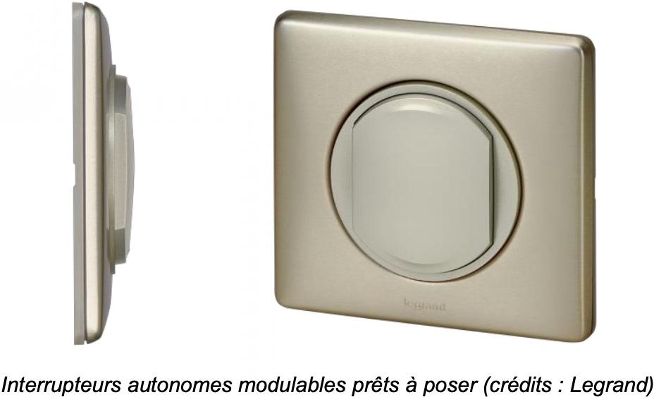 legrand sans fil sans pile - Legrand annonce ses interrupteurs sans fil et sans pile... en collaboration avec le CEA