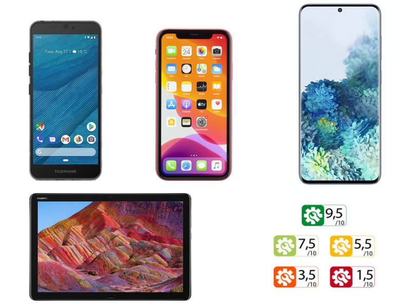 reparabilite smartphone - Réparabilité des smartphones et tablettes