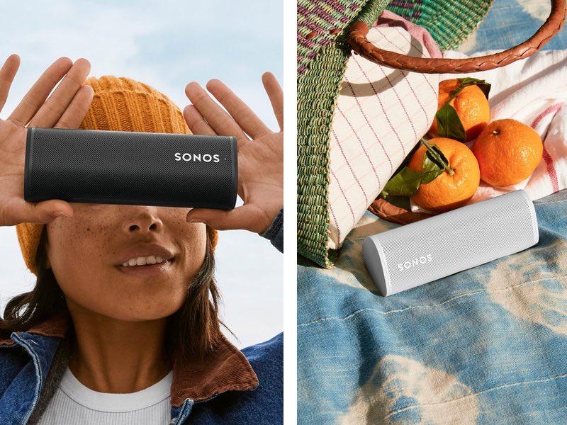 sonos roam 2021 - Sonos Roam : une nouvelle enceinte nomade à 179€