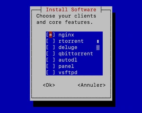 swizzin core - Créer votre Seedbox en 20 minutes avec Swizzin (Kimsufi, VPS...)