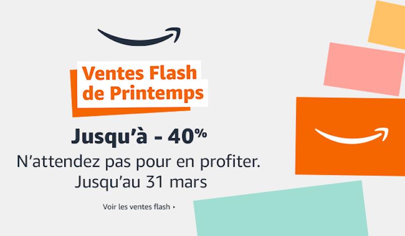 ventes flash printemps - Ventes Flash de printemps du 22 au 31 mars