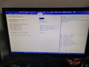 BIOS Boot 300x225 - Mini PC industriel : Un serveur polyvalent à petit prix ?