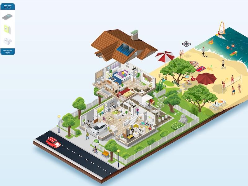 La Maison ANFR - La maison connectée selon l'ANFR : Linky, 5G, WiFi, CPL...