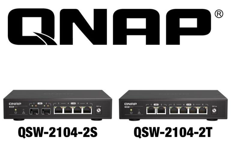QNAP QSW 2104 2S QSW 2104 2T 770x513 - QNAP QSW-2104-2S et QSW-2104-2T