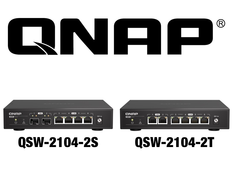 QNAP QSW 2104 2S QSW 2104 2T - QNAP QSW-2104-2S et QSW-2104-2T