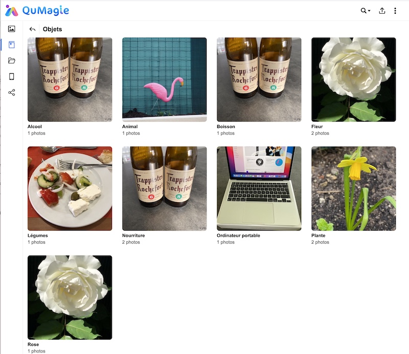 QuMagie AI - Alternatives à Google Photos avec un NAS QNAP