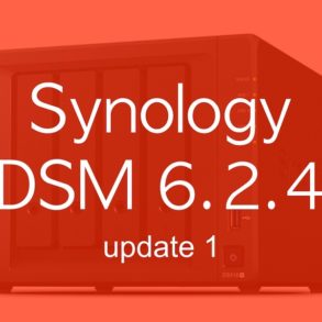 Synology DSM 6.2.4 update 1