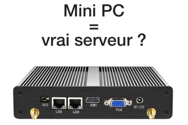 minipc serveur 770x513 - Mini PC industriel : Un serveur polyvalent à petit prix ?