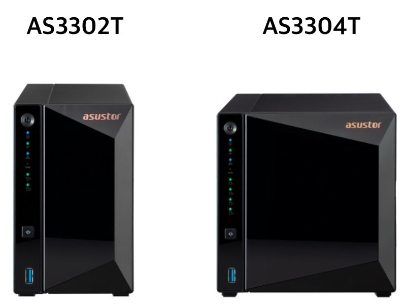 ASUSTOR AS3302T AS3304T - Asustor lance les NAS AS3302T et AS3304T (ADM 4)