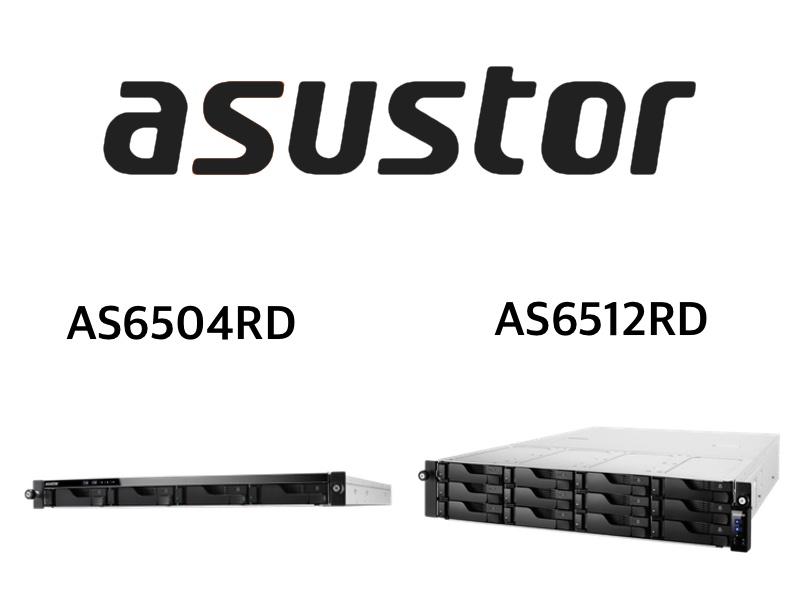 ASUSTOR AS6504RD AS6512RD - ASUSTOR lance 2 NAS rackables : AS6504RD et AS6512RD