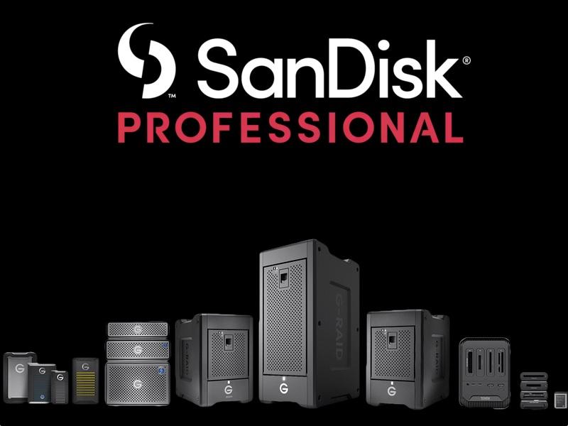 Sandisk Professional - SanDisk lance la gamme professional