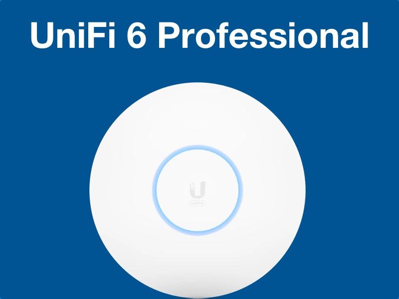 UniFi 6 pro - Unifi lance un nouveau point d'accès WiFi 6 (UniFi 6 Professional)
