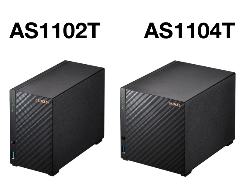 asustor AS1102T AS1104T - Asustor lance les NAS l'AS1102T et AS1104T