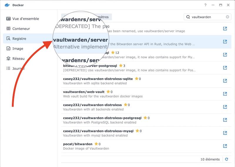 vaultwarden docker - Vaultwarden remplace Bitwarden_RS  (docker / Synology)