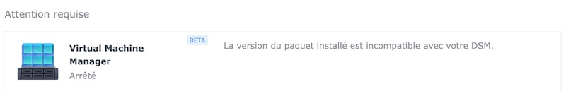 Attention requise - NAS - Synology DSM 7.0 Release Candidate est disponible