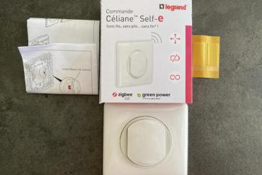 Celiane self e 370x247 - Legrand Céliane Self-e : sans fils, sans pile... mais pas sans intérêt