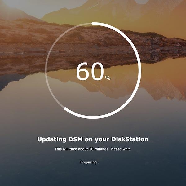 DSM7 installation - NAS - Synology DSM 7.0 Release Candidate est disponible