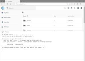 File Browser command 300x215 - File Browser, LE gestionnaire de fichiers gratuit pour votre serveur...