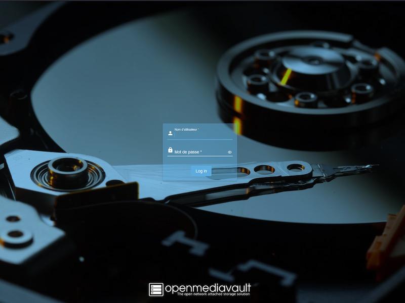 connexion OMV 6 - Openmediavault 6 se dévoile dans une Preview