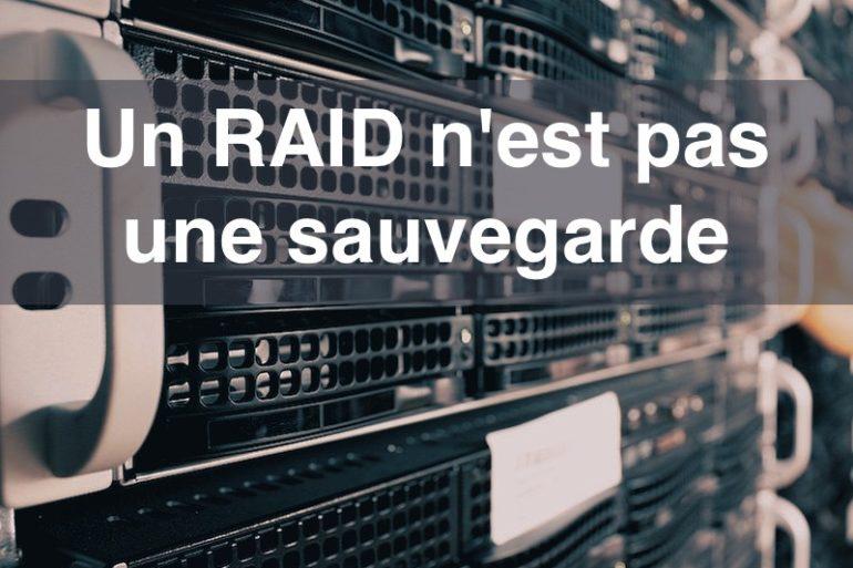 RAID SAUVEGARDE