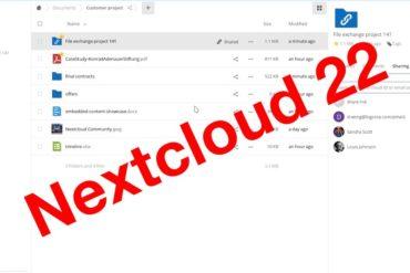 Nextcloud Hub 22 370x247 - Nextcloud Hub 22 est disponible : Outils collaboratifs, signature PDF...