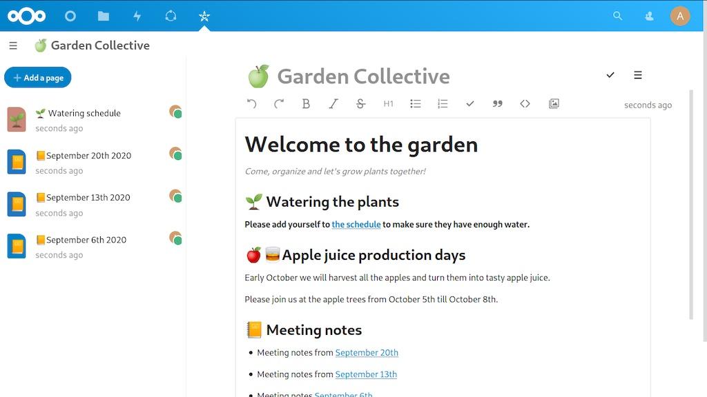 Nextcloud Hub 22 collective - Nextcloud Hub 22 est disponible : Outils collaboratifs, signature PDF...