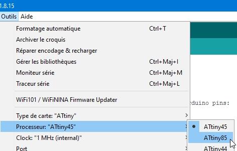 attiny85 19 - Fabriquez un programmateur pour ATtiny 85