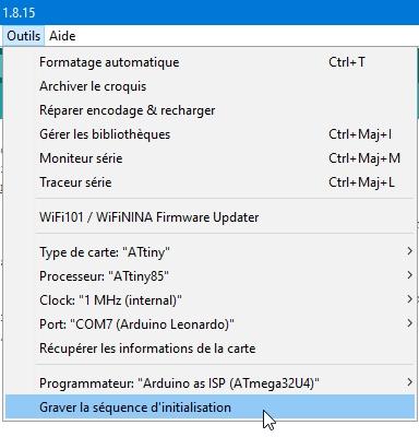 attiny85 23 - Fabriquez un programmateur pour ATtiny 85