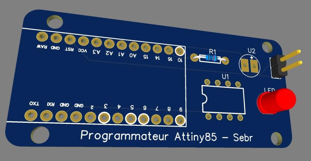 attiny85 28 - Fabriquez un programmateur pour ATtiny 85