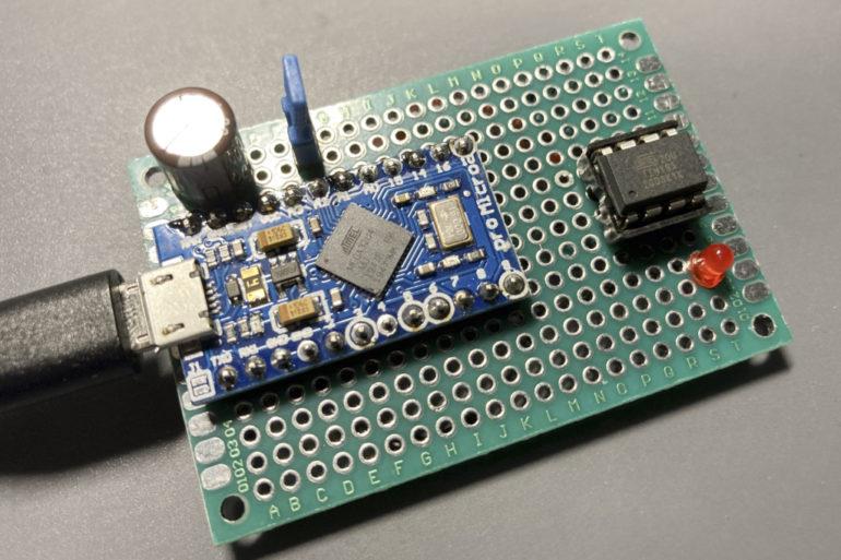 attiny85 5 770x513 - Fabriquez un programmateur pour ATtiny 85