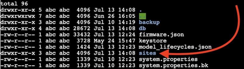 default site unifi - UniFi : Problème avec le site_ID