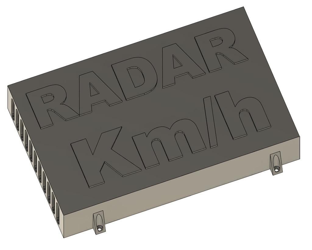 radar 34 - DIY: Fabriquer un radar pédagogique