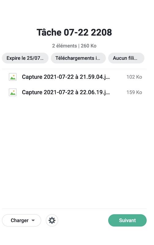 tache C2 transfert - Synology C2 Password est disponible