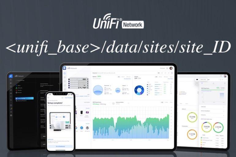 unifi data sites 770x513 - UniFi : Problème avec le site_ID