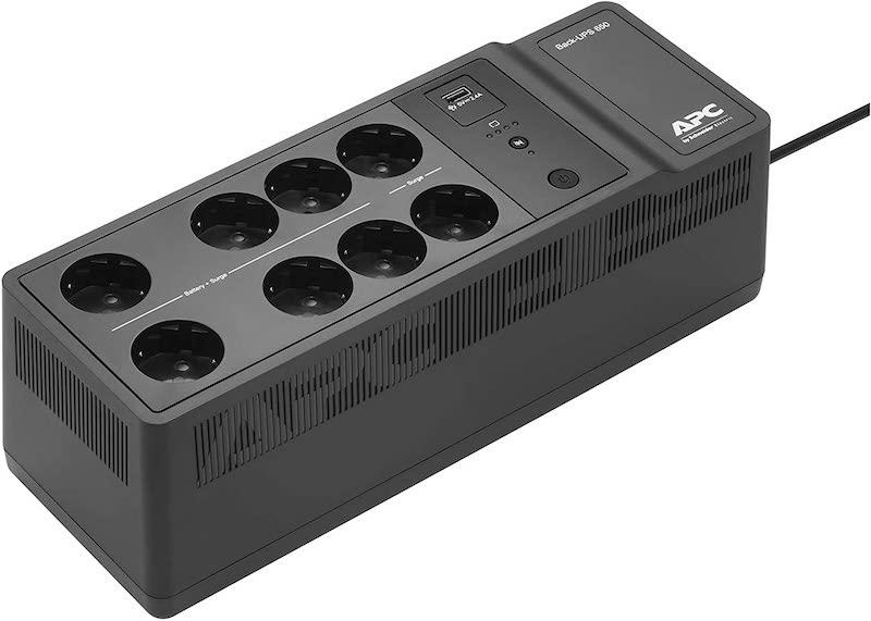 APC BE650G2 FR - Choisir un onduleur pour NAS : Off Line, Line Interactive, On Line... On vous explique tout !
