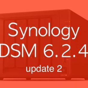 DSM 624u2 293x293 - Synology DSM 6.2.4 update 2 est disponible