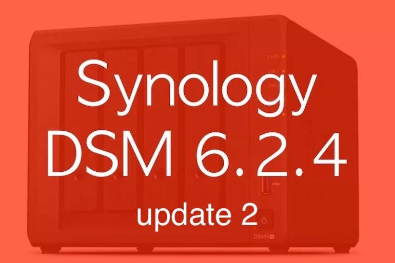 DSM 624u2 770x513 - Synology DSM 6.2.4 update 2 est disponible