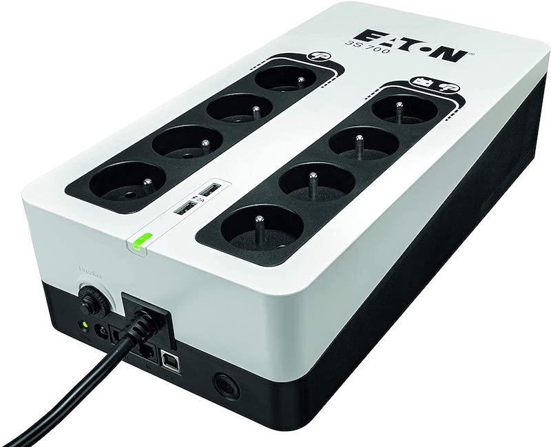 Eaton 3S 700 FR - Choisir un onduleur pour NAS : Off Line, Line Interactive, On Line... On vous explique tout !