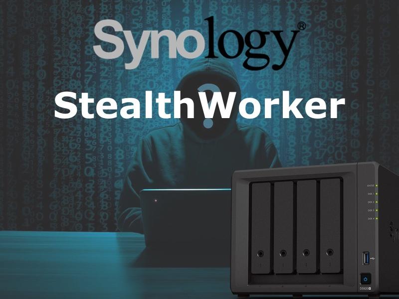 Synology StealthWorker - Synology NAS - StealthWorker-Angriffe im Gange ...