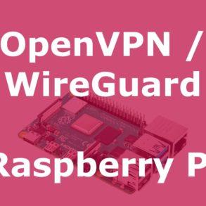 pivpn 293x293 - PiVPN : OpenVPN ou WireGuard sur un Raspberry Pi (Tuto)