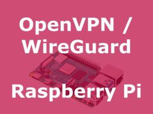 pivpn 300x225 - PiVPN : OpenVPN ou WireGuard sur un Raspberry Pi (Tuto)
