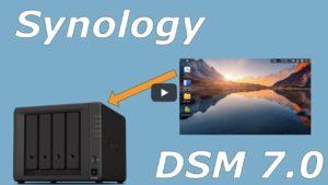 synology video 300x169 - NAS - Vidéo Synology DSM 7.0 et C2
