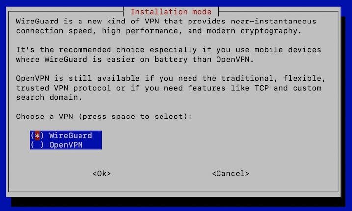 wireguard openvpn - PiVPN : OpenVPN ou WireGuard sur un Raspberry Pi (Tuto)