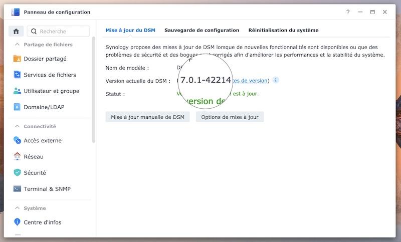 DSM 701 42214 - Synology DSM 7.0.1 (RC) est disponible : déduplication avec Btrfs, volumes jusqu'à 1 Po...