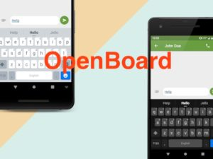 OpenBoard 300x225 - OpenBoard - Clavier ultime pour Android